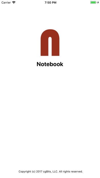 「Notebook」のスクリーンショット 1枚目
