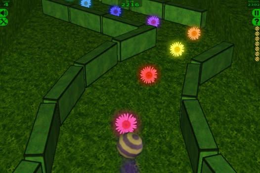 「BiiBall 3D Lite」のスクリーンショット 2枚目