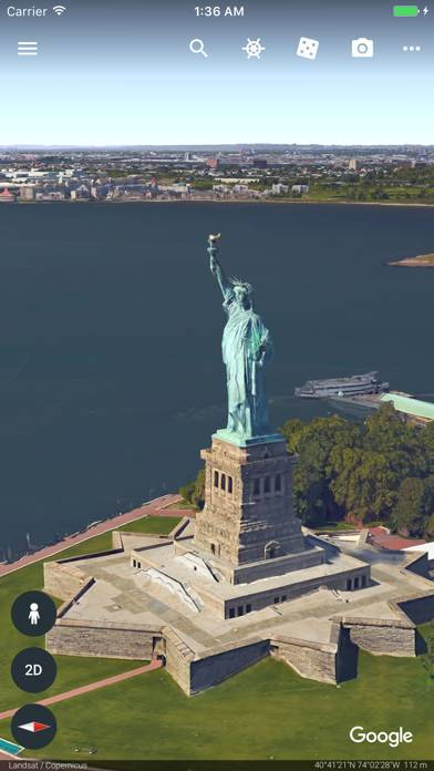 「Google Earth」のスクリーンショット 1枚目