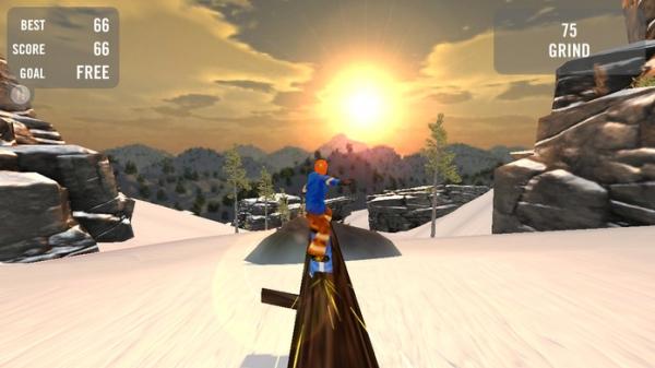 「Crazy Snowboard」のスクリーンショット 3枚目
