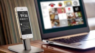 「LCD Clock」のスクリーンショット 1枚目