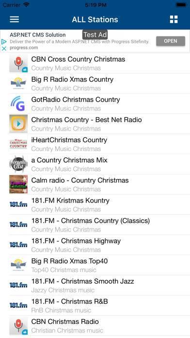 「クリスマス・ラジオ (Christmas Radio)」のスクリーンショット 3枚目