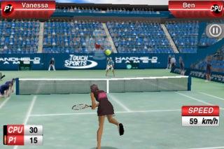 「TouchSports™ Tennis」のスクリーンショット 1枚目