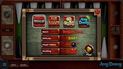 「Backgammon Premium」のスクリーンショット 3枚目