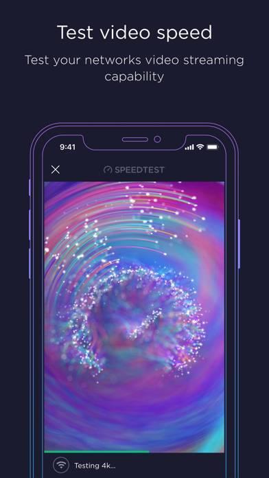 「Speedtest - インターネット速度」のスクリーンショット 2枚目