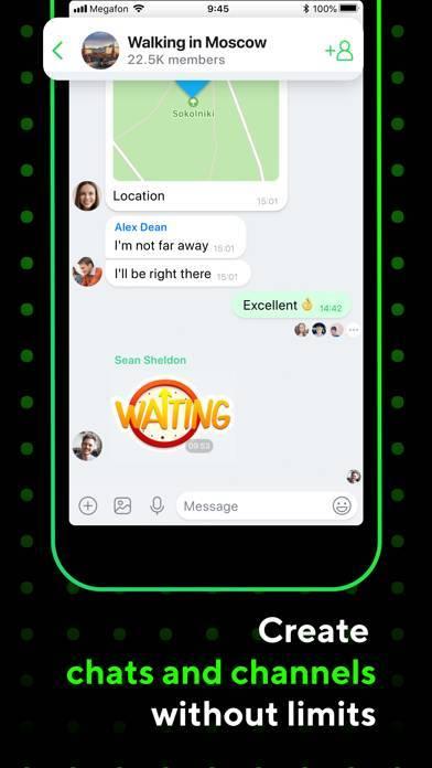 「ICQ: Messenger & Video Calling」のスクリーンショット 2枚目