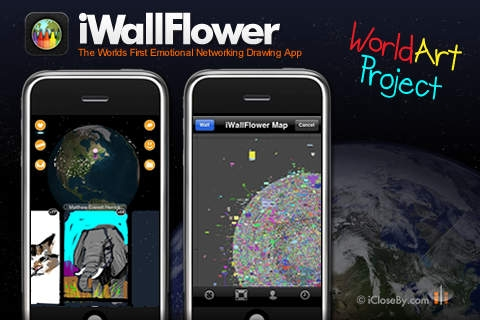 「iWallFlower HD - World Art Project - Participate!」のスクリーンショット 3枚目