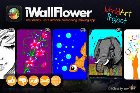 「iWallFlower HD - World Art Project - Participate!」のスクリーンショット 2枚目
