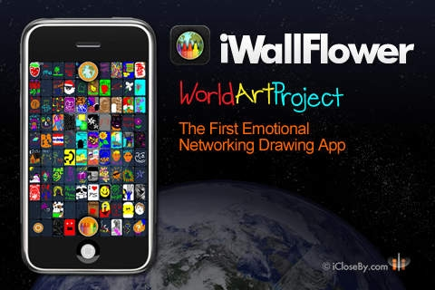 「iWallFlower HD - World Art Project - Participate!」のスクリーンショット 1枚目