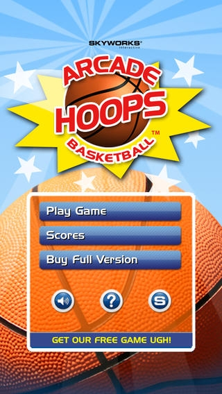 「Arcade Hoops Basketball™ Free」のスクリーンショット 1枚目