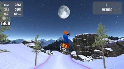 「Crazy Snowboard Free」のスクリーンショット 2枚目