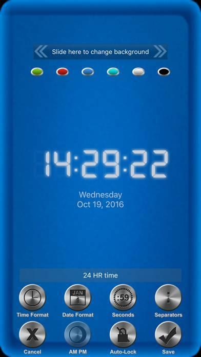「Good Times 時計」のスクリーンショット 3枚目