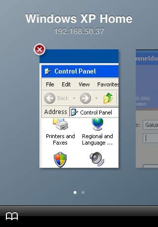 「iRdesktop」のスクリーンショット 2枚目