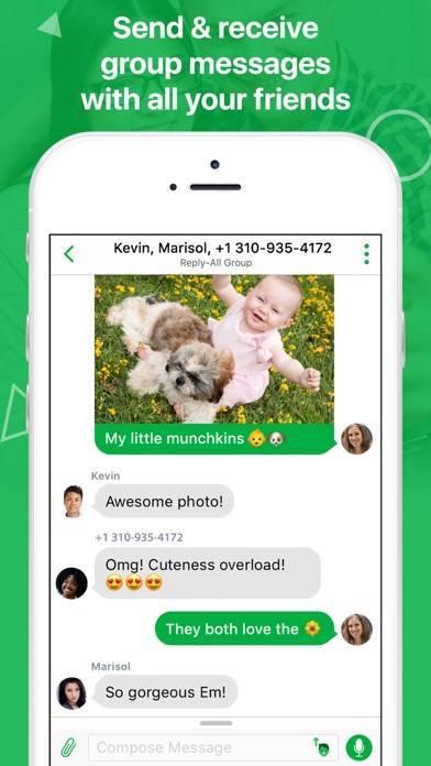 「textPlus: Unlimited Text+Calls」のスクリーンショット 3枚目