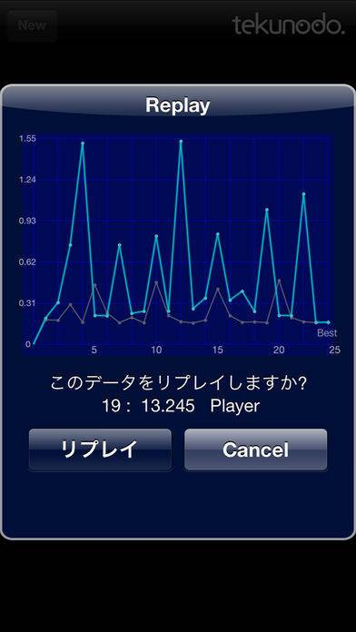 「Touch the Numbers」のスクリーンショット 3枚目