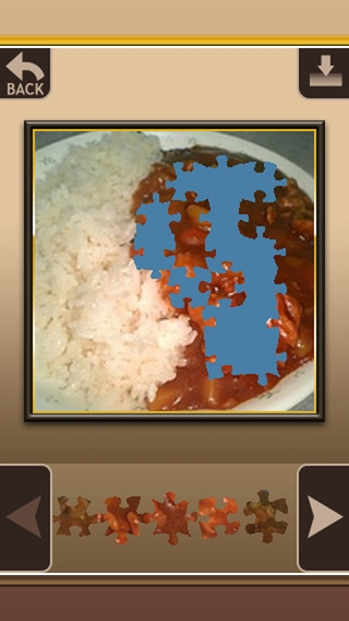 「Puzzle the Curry」のスクリーンショット 3枚目
