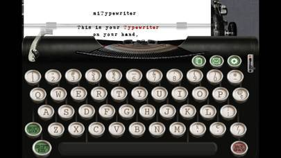 「miTypewriter」のスクリーンショット 1枚目