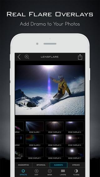「LensFlare Optical Effects」のスクリーンショット 3枚目