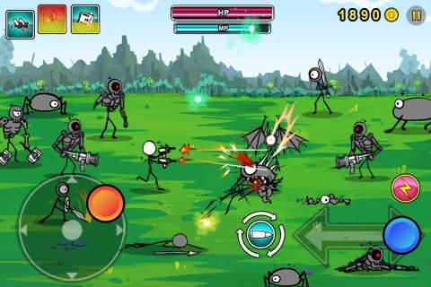 「Cartoon Wars: Gunner Lite」のスクリーンショット 2枚目