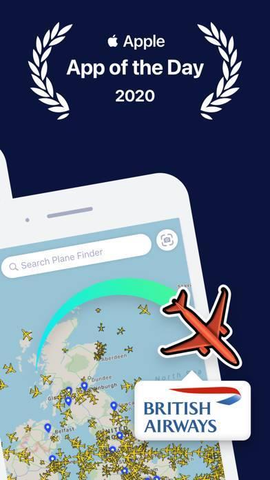 「Plane Finder ⁃ Flight Tracker」のスクリーンショット 2枚目