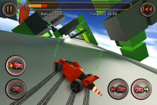 「Jet Car Stunts Lite」のスクリーンショット 3枚目