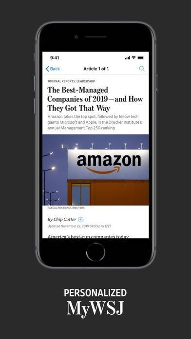 「The Wall Street Journal.」のスクリーンショット 3枚目