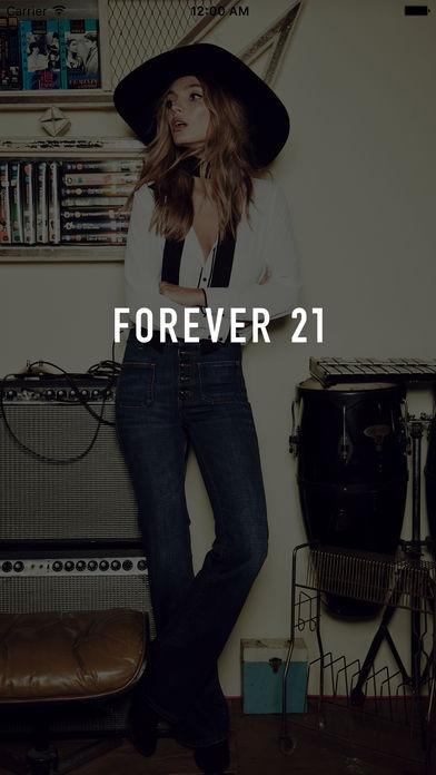 「Forever 21」のスクリーンショット 1枚目
