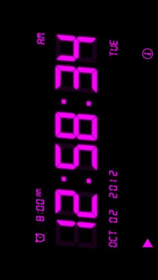 「アラームの音楽時計」のスクリーンショット 1枚目