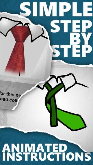 「ネクタイを素早く簡単に結ぶ方法」のスクリーンショット 3枚目