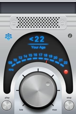 「年齢診断 - 若者にしか聞こえない不思議な音」のスクリーンショット 1枚目