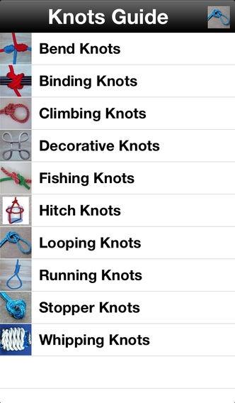 「Knots Guide」のスクリーンショット 1枚目