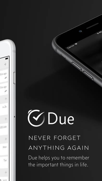 「Due - Reminders & Timers」のスクリーンショット 2枚目