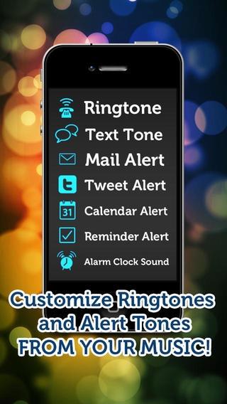 「着うたメーカー (Ringtone Maker) - あなたの音楽からリングトーンを作成してください!」のスクリーンショット 1枚目