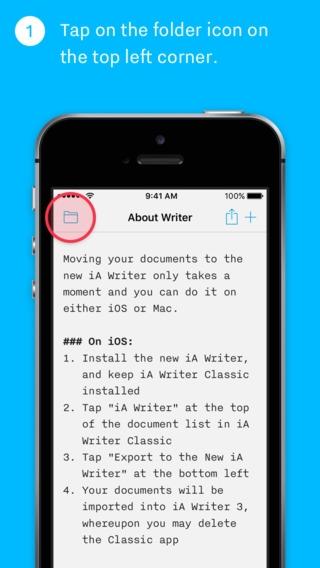 「iA Writer Classic (Legacy Support Edition)」のスクリーンショット 2枚目