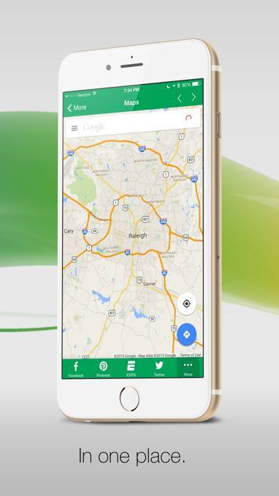 「G-Whizz! for Google Apps - の#1 Google アプリブラウザ」のスクリーンショット 2枚目