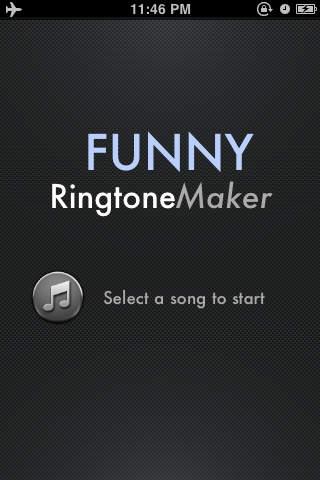 「着メロデザイナ (Funny Ringtone Maker)」のスクリーンショット 1枚目