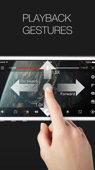 「AVPlayer (無エンコード 字幕 再生速度調節)」のスクリーンショット 3枚目