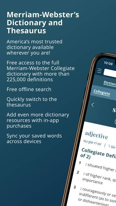 「Merriam-Webster Dictionary」のスクリーンショット 1枚目