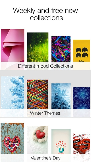 「Icon Skins ™ : Wallpapers for your iPhone」のスクリーンショット 2枚目