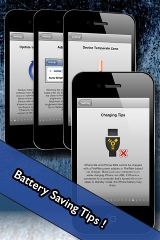 「Amber Battery Lite (+Battery Doctor/Battery Boost)」のスクリーンショット 3枚目