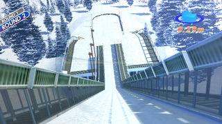 「Real Skijump HD」のスクリーンショット 1枚目