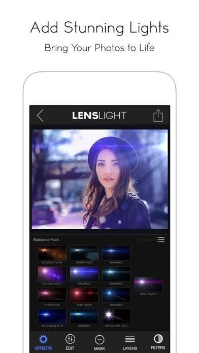 「LensLight Visual Effects」のスクリーンショット 3枚目