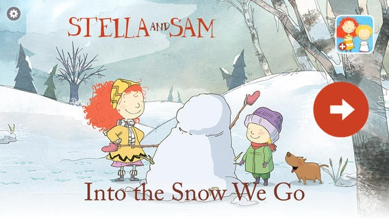 「Into the Snow: A Stella and Sam Adventure」のスクリーンショット 1枚目