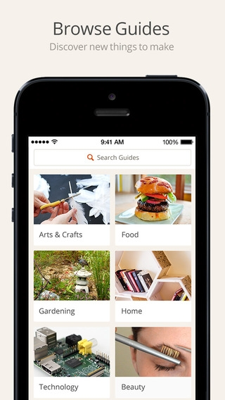 「Snapguide - How-tos, Recipes, Fashion, Crafts, iPhone Tips and Lifehacks」のスクリーンショット 2枚目