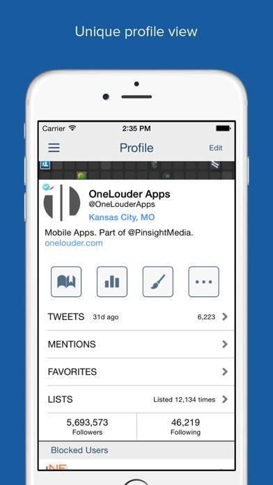 「TweetCaster Pro for Twitter」のスクリーンショット 3枚目