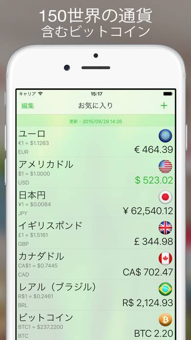 「Currency+ Lite」のスクリーンショット 3枚目