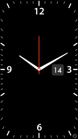 「Quick Alarm: Nightstand Clock」のスクリーンショット 1枚目