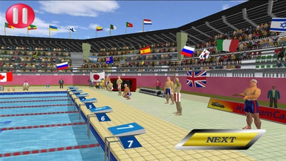 「Summer Games 3D Lite」のスクリーンショット 2枚目