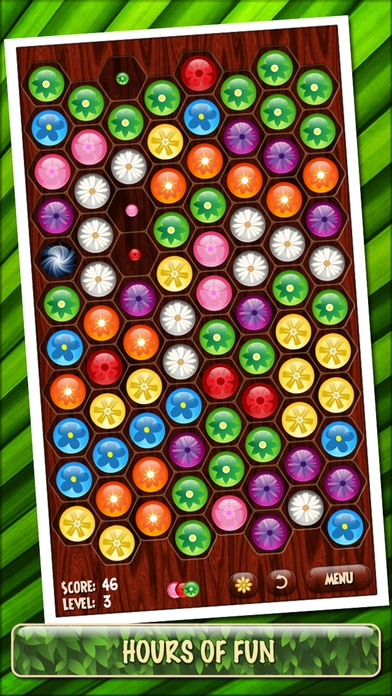 「Flower Board - A relaxing puzzle game」のスクリーンショット 1枚目