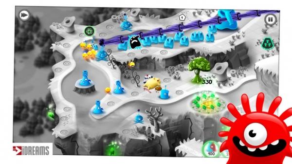 「Jelly Defense」のスクリーンショット 2枚目